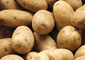 Potatoes, russet,  price per #
