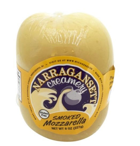Cheese, SMOKED Mozzarella, 8oz. New! Narragansett Creamery