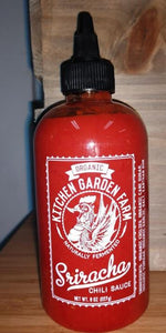 Sriracha, organic Kitchen Garden Farms