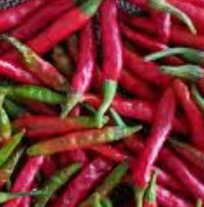 Peppers: Thai Chili - dried
