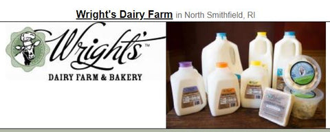 Milk & Cream: Wrights Creamery