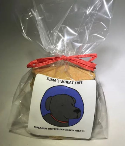 Dog treat: Zuma's Wheat Free