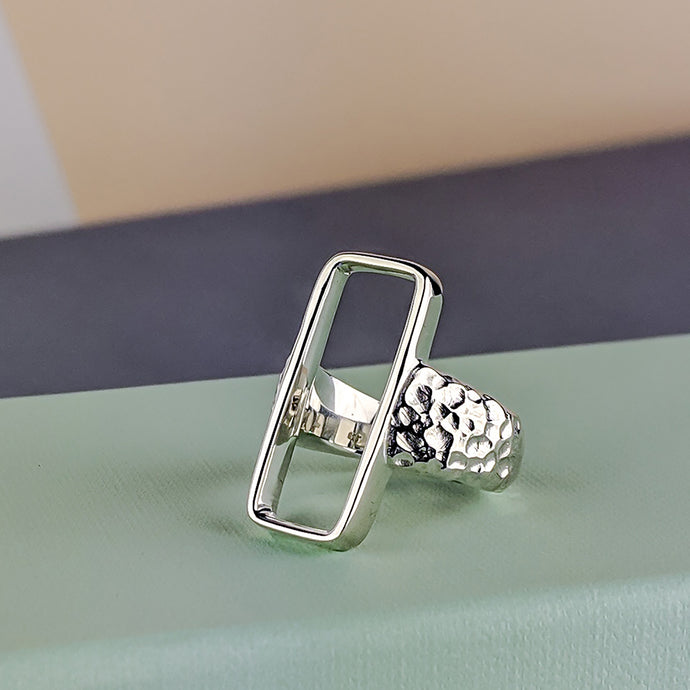 Minimal and Handcarved: The Zone Rectangle Ring