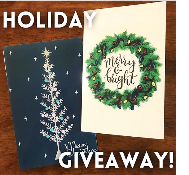 Holiday Giveaways!