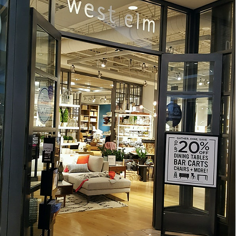 Come Shop with Navona at West Elm KOP!