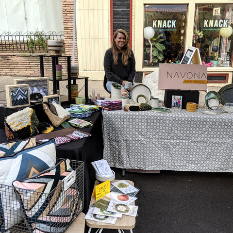 Navona Handmade - 2019 Craft Show Booth