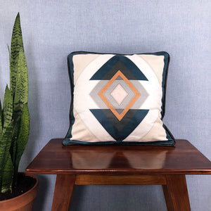 Lorraine Faux Suede Throw Pillow