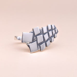 Randyland Mirrors Two Finger Ring