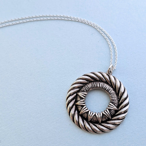 Portal Rope Pendant Necklace