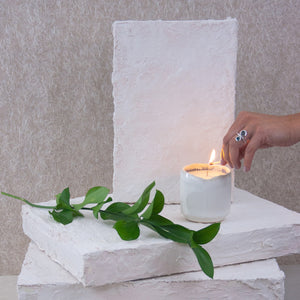 reusable vessel soy candle