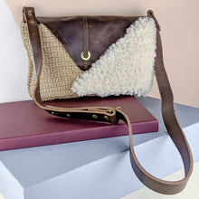 Load image into Gallery viewer, Adjustable Strap fuzzy crossbody bag