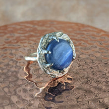 Load image into Gallery viewer, Kyanite Halo Ring