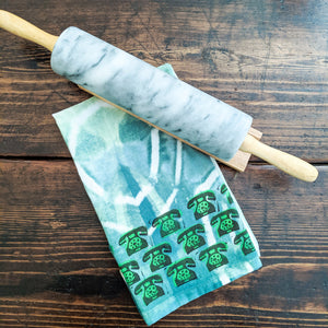 Art Garden Tea Towel - Green
