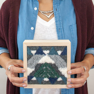 Mount Hood Mini Embroidery