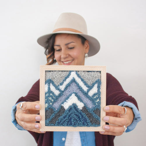 Cascades Mini Embroidery