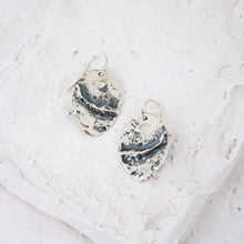 Load image into Gallery viewer, Spindrift Oval Earrings
