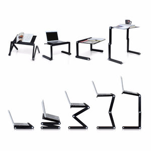 Multi Functional Ergonomic Foldable Laptop Stand