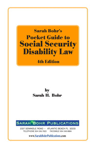 Pocket Guide to Disability Rulings 4th Edition (Digital Download)