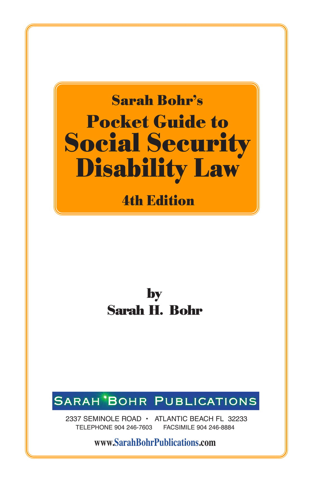Pocket Guide to Disability Rulings 4th Edition (Digital Download + Physical Book)