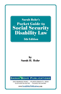 Pocket Guide to Social Security Disability Law 5th Edition (Digital Download + Physical Book)