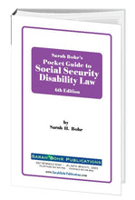 Load image into Gallery viewer, Pocket Guide to Social Security Disability Law 6th Edition (Digital Download)