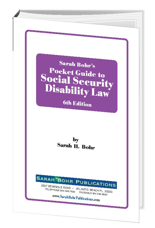 Pocket Guide to Social Security Disability Law 6th Edition (Digital Download)