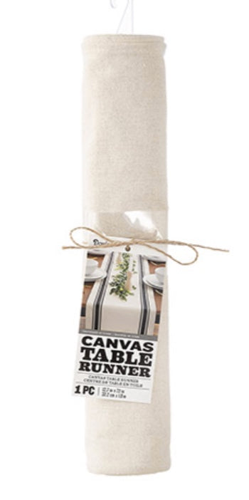 Darice Natural Canvas Table Runner 72 inch