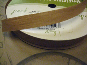 Green Way Natural Kraft Curling Ribbon 1/2"