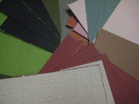 Sandable Cardstock Color Core Paper | Emboss, Cut, Tear, Sand