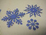 Darice Metal Die Assorted Snowflakes | Emboss, Stencil, Cut Scrapbooking Crafts Cards