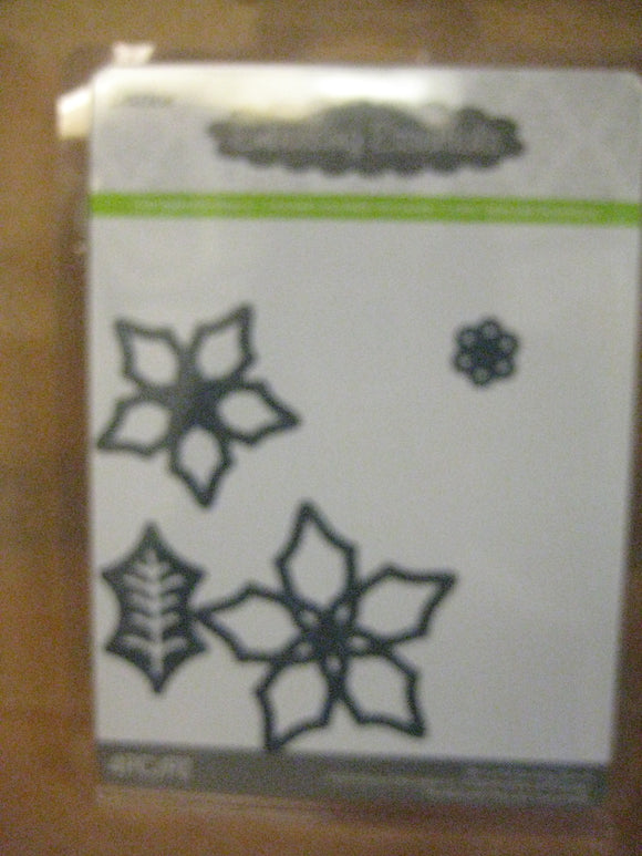 Darice Metal Die Poinsettia Flower | Emboss, Stencil, Cut Crafts Cards
