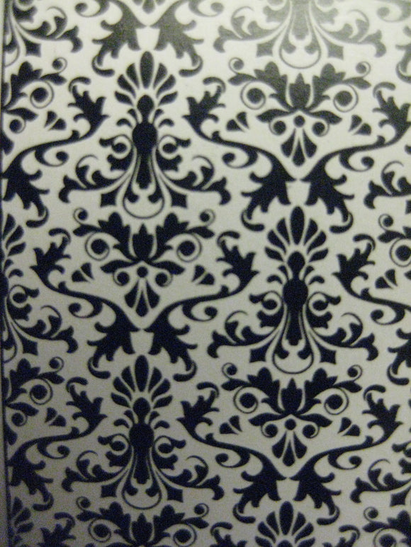 Darice Embossing Folder Damask Background |  5 x 7