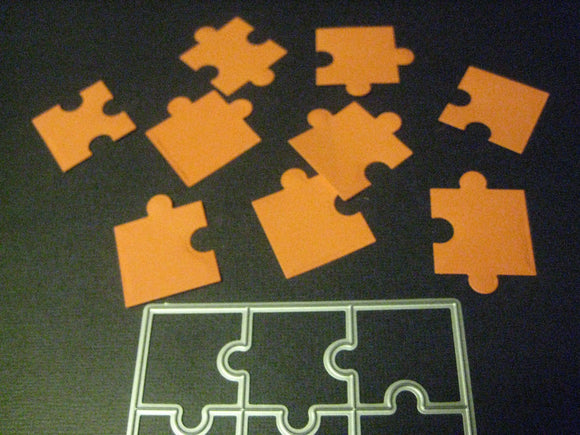Puzzle Pieces Metal Cutting Die | Cut, Emboss, Stencil