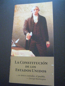 Pack of 10 Pocket Constitutions & Declaration of Independence SPANISH Version United States Constitution