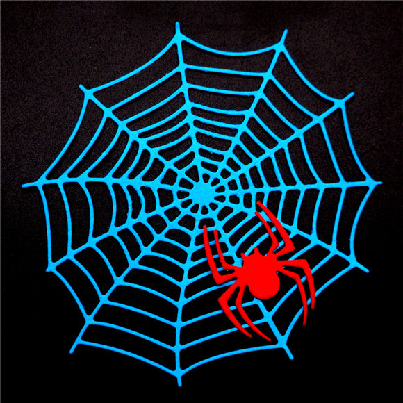 2pc Spider Web & Spider Halloween Metal Cutting Dies | Scrapbooking Greeting Cards