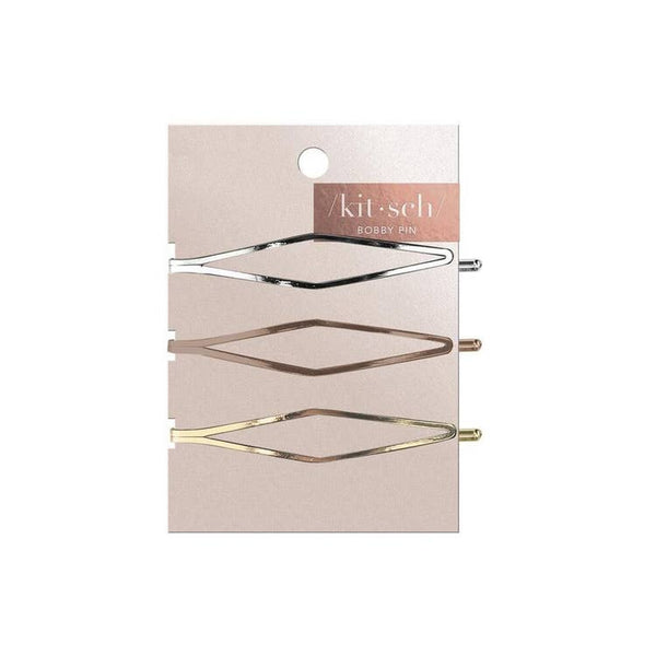 Kitsch Long Diamond Bobby Pins