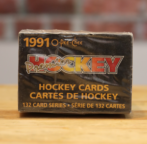 1990/91 OPC O-Pee-Chee Premier Hockey Card Sealed Factory Set