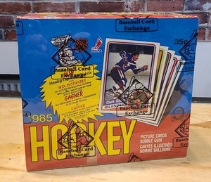 1984/85 O-Pee-Chee Hockey Card Wax Box (48 Packs) BBCE Authenticated - FLIP Collectibles Shop