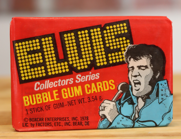 1978 Donruss Elvis Presley Music Trading Photo Cards Wax Pack