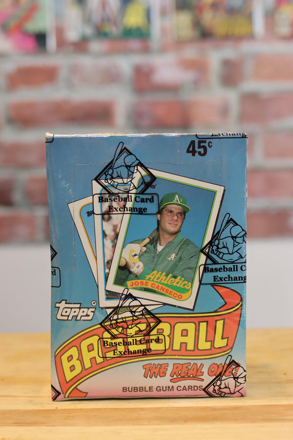 1989 Topps Baseball Card Wax Box (36 Packs) BBCE Authenticated