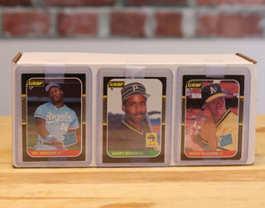 1987 Leaf Donruss Baseball Card Complete Set (148 Cards) - FLIP Collectibles Shop