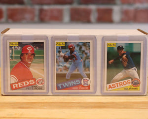 1985 O-Pee-Chee Baseball Card Complete Set (396 Cards) - FLIP Collectibles Shop
