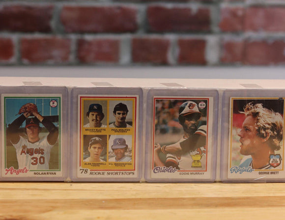 1978 Toppa Baseball Card Complete Set (726 Cards) - FLIP Collectibles Shop