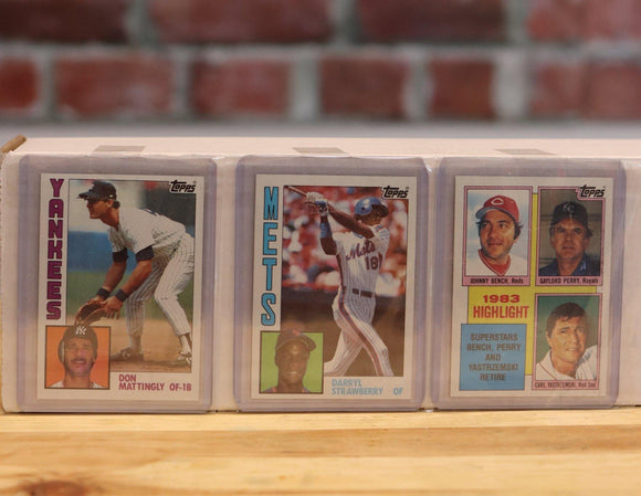 1984 Topps Baseball Card Complete Set (792 Cards) - FLIP Collectibles Shop