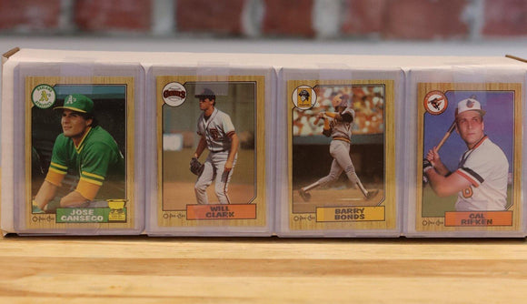 1987 O-Pee-Chee Baseball Card Complete Set (396 Cards) - FLIP Collectibles Shop