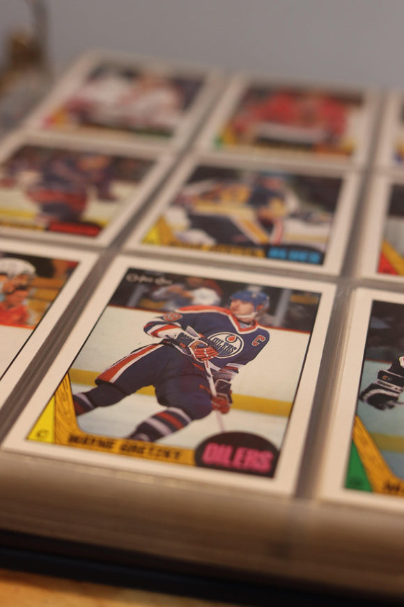 1987 O-Pee-Chee Hockey Card Complete Set (264 Cards) - FLIP Collectibles Shop