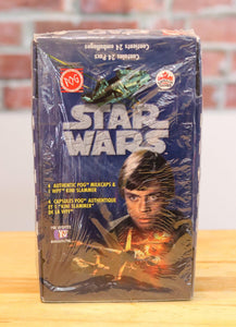1995 Canada Games Star Wars Movie Pogs (24 Packs) Factory Sealed - FLIP Collectibles Shop