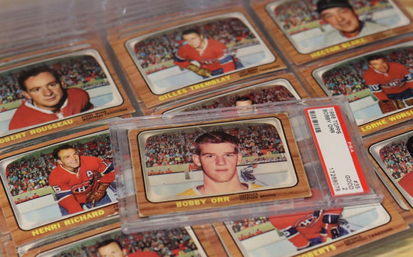 1966/67 Topps Hockey Card Complete Set (Bobby Orr Rookie Year) - FLIP Collectibles Shop