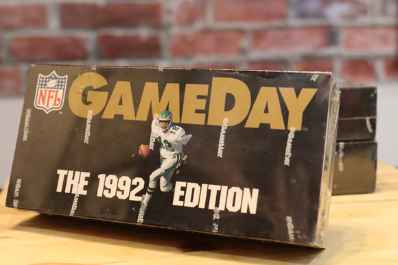 1992 Game Day NFL Football Card Factory Sealed Wax Box (36 Packs)