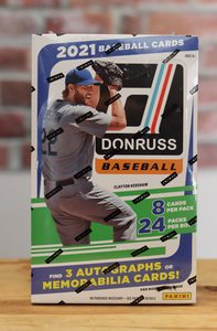 2021 Panini Donruss Baseball Card Hobby Box (24 Packs)
